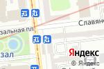 Схема проезда до компании Ломбард Любий Друже, ПТ в Харькове