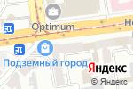 Схема проезда до компании Вікна Корса в Харькове