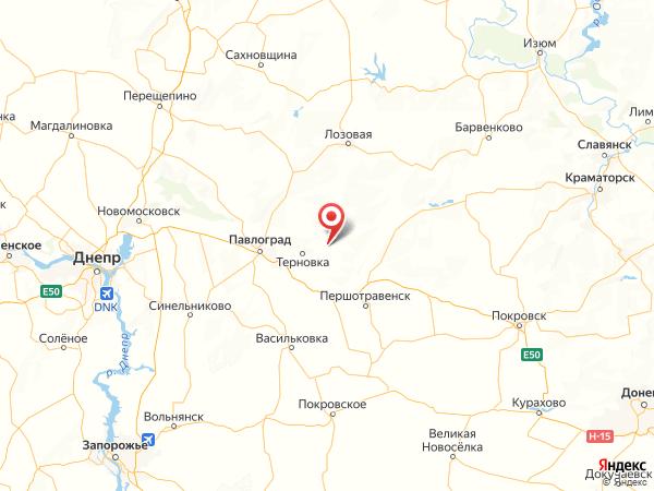 село Новая Дача на карте