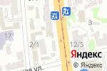 Схема проезда до компании Тип Топ Люкс Запаска, ЧП в Харькове