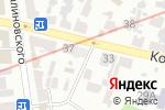 Схема проезда до компании Всеукраинская кикбоксерская ассоциация в Харькове
