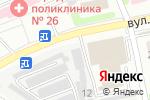 Схема проезда до компании Сеть автосервисов в Харькове