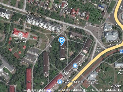 Сдам 2-комнатную квартиру, 41 м², Курск, улица Дубровинского, 7А