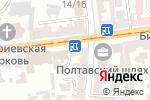 Схема проезда до компании Prime в Харькове