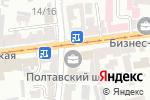 Схема проезда до компании ПУМБ в Харькове