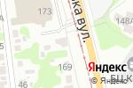 Схема проезда до компании Восток в Харькове