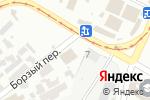 Схема проезда до компании Flower City в Харькове