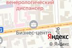 Схема проезда до компании Нотариус Тихонова И.В. в Харькове