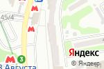 Схема проезда до компании Saltus в Харькове