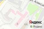 Схема проезда до компании Университетская клиника в Харькове