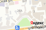 Схема проезда до компании Нотариус Тимофеева Е.В. в Харькове