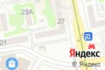 Схема проезда до компании ITbox в Харькове
