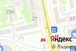 Схема проезда до компании AKVAREL в Харькове