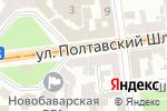 Схема проезда до компании Master-K в Харькове
