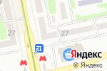 Схема проезда до компании Квіти на Отакара Яроша в Харькове