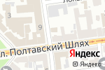 Схема проезда до компании Zona 220 в Харькове