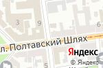 Схема проезда до компании Мастерская по ремонту одежды и обуви в Харькове