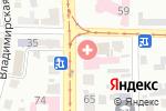 Схема проезда до компании Харківська міська косметологічна лікарня в Харькове