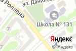 Схема проезда до компании Campania в Харькове