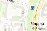 Схема проезда до компании 57 в Харькове