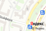 Схема проезда до компании Альфа-Аэротур Сервис в Харькове