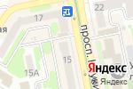 Схема проезда до компании HouseFit в Харькове