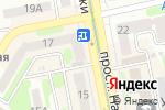 Схема проезда до компании Знакъ в Харькове