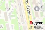 Схема проезда до компании МИРАЖ в Харькове
