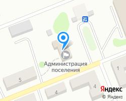 Схема местоположения почтового отделения 170513