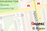 Схема проезда до компании Lingvo Studio в Харькове