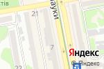 Схема проезда до компании Dilari в Харькове