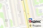 Схема проезда до компании Accetto в Харькове