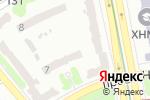 Схема проезда до компании Нотариус Гуменная Л.П. в Харькове