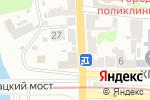 Схема проезда до компании Zeon в Харькове