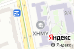 Схема проезда до компании Харківський національний медичний університет в Харькове