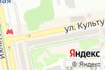 Схема проезда до компании Квитер в Харькове