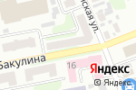 Схема проезда до компании Ядро електроніка в Харькове