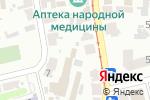 Схема проезда до компании Nika Tour в Харькове