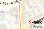 Схема проезда до компании Твой Обувной в Харькове