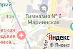 Схема проезда до компании Современные потолочные системы в Харькове
