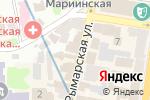 Схема проезда до компании Астория в Харькове
