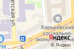 Схема проезда до компании Нотариус Дьяченко В.Е. в Харькове