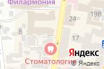 Схема проезда до компании La Creperie в Харькове