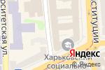 Схема проезда до компании Vg decor в Харькове