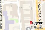 Схема проезда до компании Djaya в Харькове