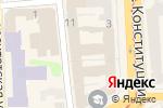 Схема проезда до компании Dolce Vita в Харькове
