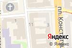 Схема проезда до компании Eva в Харькове