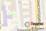 Схема проезда до компании BALI в Харькове