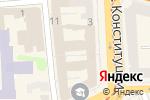 Схема проезда до компании Арка в Харькове