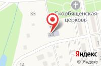 Схема проезда до компании Поляночка в Колюпаново